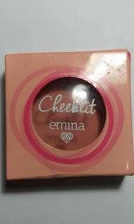 Like new emina cheeklit pressed blush (marshmallow lady)