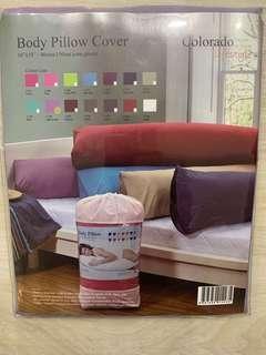 Colorado Body Pillow Cover - Light Purple