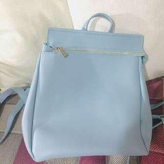 Baby Blue Small Backpack