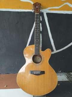 gitar epiphone acoustic elektrik