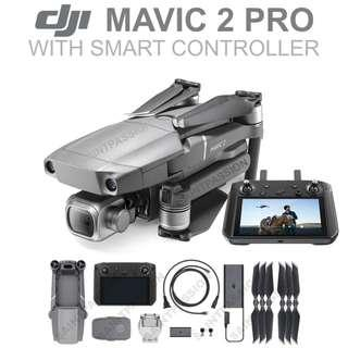 DJI Mavic 2 Pro with Smart Controller (Shopee $200 off!)