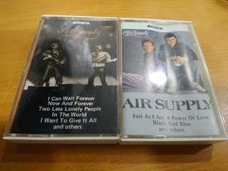 Air Supply 空中補給樂隊 TAPE 錄音帶 2盒 非CD版