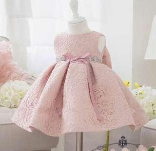 Lace dress for babies 18-24 months