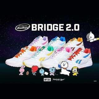 (PRE-ORDER) Reebok × BT21 Royal Bridge 2.0