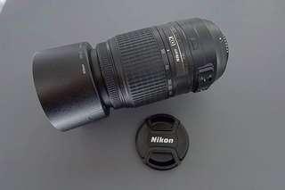 Nikon 55-300mm f/4.5-5.6 ED zoom lens