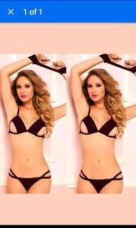 281ea3fe9 Free NM+FREEBIE  Women Sexy Strap Lingerie Rose Red Ladies Underwear G-