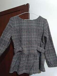 🚚 格紋兒童洋裝