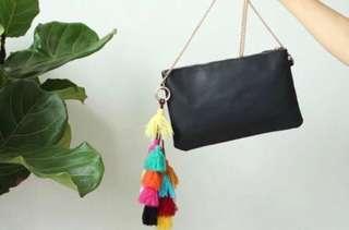 NOW OPEN FOR PRE ORDER Forever 21 tassel sling bag
