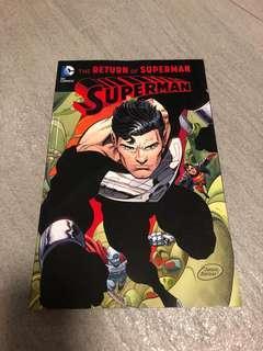 Return of Superman DC comics complete Reign of the Superman tpb