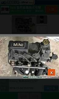Mini Cooper R50 1.6 全新日本引擎