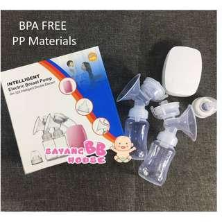 INTELLIGENT Electric Breast Pump Intelligent Double Electric Bpa Free Bottle (1yrs warranty)