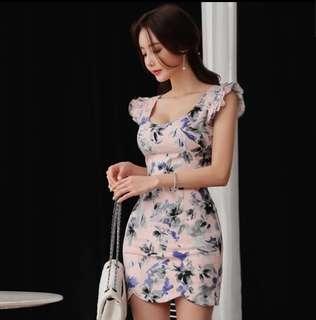 Floral Work Dress