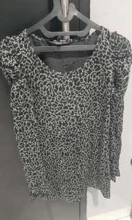Dress Leopard Black