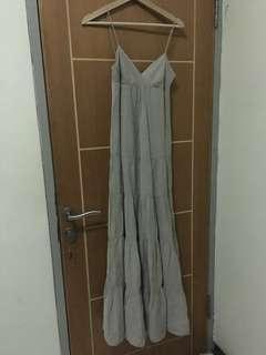 Zara Gray Dress #onlinesale