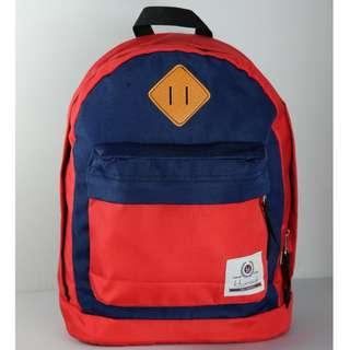 🚚 Haversack Backpacks (Red & Blue)