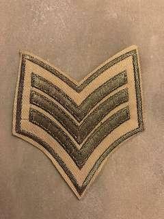 金線刺繡熨章