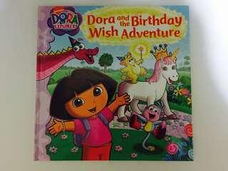 Dora and the Birthday Wish Adventure storybook