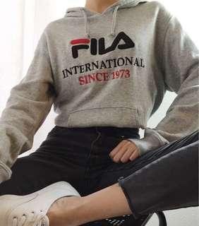 FILA grey hoodie