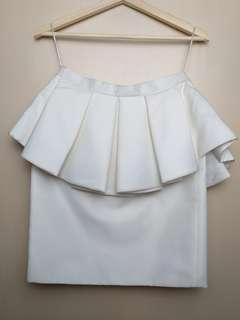 Duedate white dress