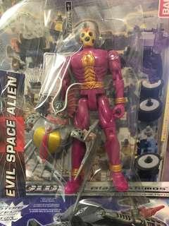 Pink evil space alien power rangers
