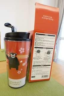 🚚 全新朵苿麗蔻 熊本熊獨家隨行杯(日本製)高16公分X直徑7.5公分