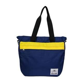 🚚 Tote Bag by Haversack (Blue & Yellow)