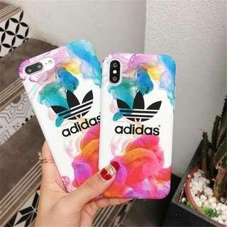 🚚 Adidas watercolor hard cover