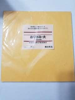 (2份)無印 muji 摺紙用 27色 80張 手作