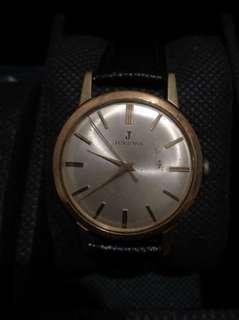 Juvernia slim swiss royalty dress watch mens size