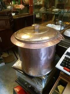 Tempat masak air kopitiam tembaga antik