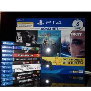 PS4 AND NEW GAMES