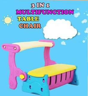MULTIFUNCTION TABLE CHAIR