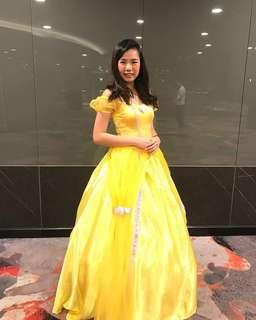 """Belle costume dress """"beauty and the beast"""""""