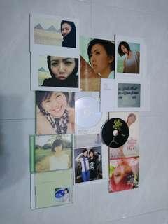 孫燕姿CD+VCD+私密光碟+影相集