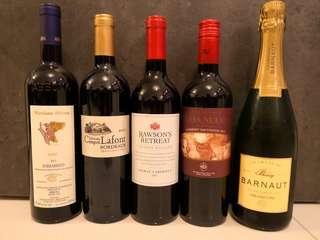 Wine Pack - 10枝(紅酒 x 4, 白酒 x 4, 香檳 x 1)
