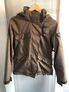 Size S Brown firefly snowboarding jacket size small