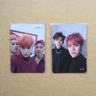 WTT MONSTA X ARE YOU THERE UNIT PHOTOCARD
