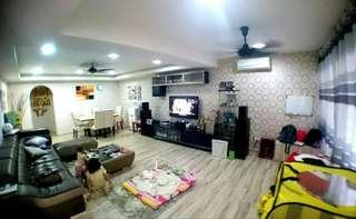 Fully furnished Double Storey in Cheras