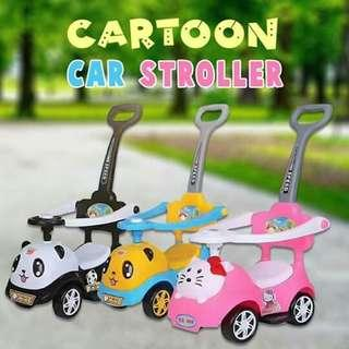 CARTOON CAR STROLLER