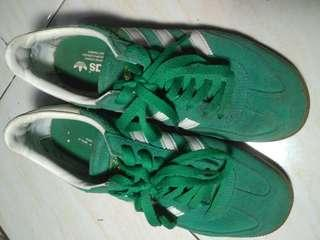 Sepatu adidas spezial (ori) warna hijauuu bermuda, 100% masihh legitttt. Terima barter/tuker tambah