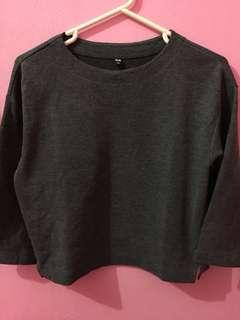 Uniqlo Basic Grey Shirt