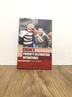 CHINA'S POVERTY ALLEVIATION OPERATIONS