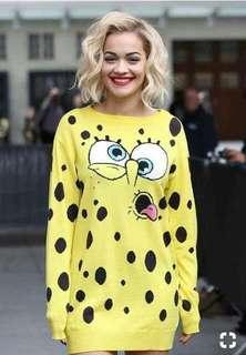spongebob mini dress