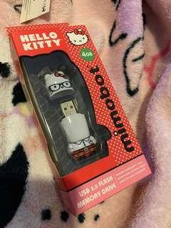 USB 2.0 Flash Memory Drive 4gb Hello Kitty Mimobot Sanrio Authentic