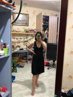 MANGO BLACK WOMEN DRESS