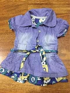 Mothercare denim dress