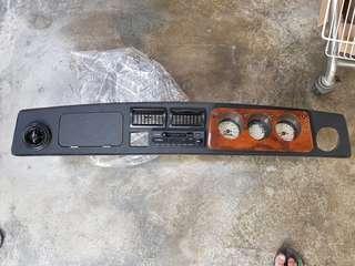 Classic Mini Cooper Dashboard