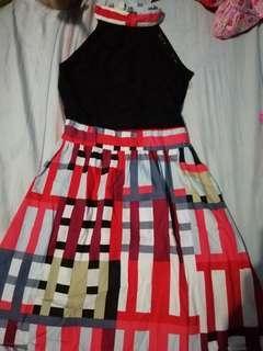 Pattern Girls Dress