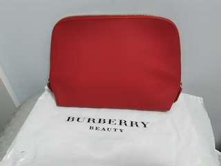 (New) Burberry 化妝袋(可做clutch bag)
