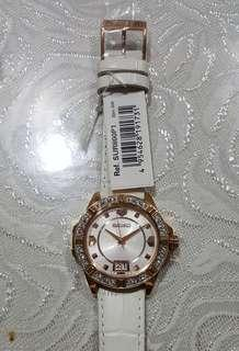 SUR800P1 Seiko Quartz Crystals White Dial Ladies watch